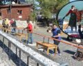 20 metrelik boru kebabıyla tarihi kenti tanıttılar