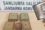 Şanlıurfa'da JASAT altın yazılı tarihi kitabeleri ele geçirdi