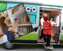 Gezici Kütüphane, koleksiyonunu okurların ayağına taşıyor