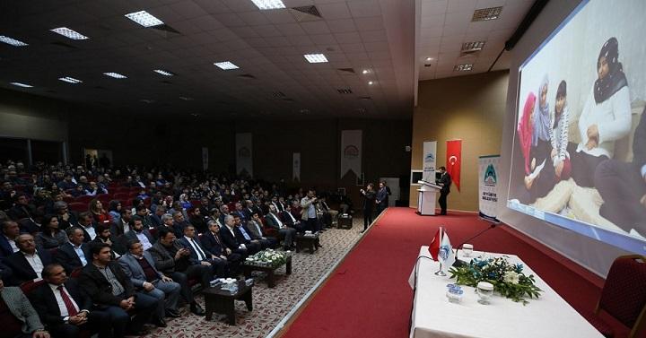 Urfa'da 'Milli Bağımsızlık ve Türkiye'nin Yükselişi' Konferansı