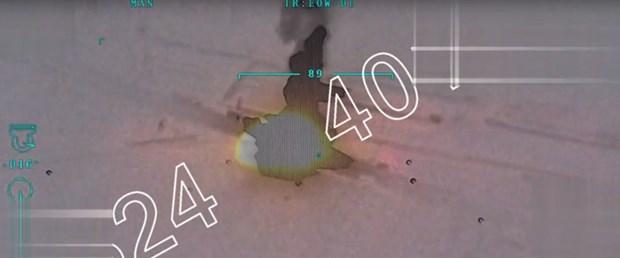 TSK: Afrin'e silah ve mühimmat taşıyan konvoy vuruldu