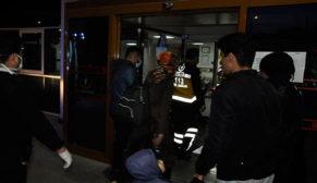 Karantinadan kaçan üç kişiyi polis yakaladı