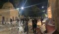 Mescid-i Aksa'ya saldırıda 163 Filistinli yaralandı