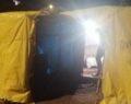Kumar için çadır kurdular