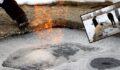 Kuyuda yanan su görenleri şaşkına çeviriyor