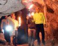 Bizans döneminden kalma mağara bulundu