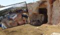 Şanlıurfa'da kurbanlıklar serin mağarada besleniyor