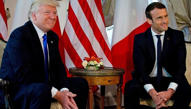 Macron: ABD, Fransa ve müttefikleri 'yeni Suriye'yi inşa etmek' için orada kalmalı