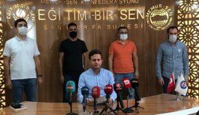 Genç-Memur-Sen'den Azerbaycan'a destek