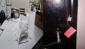 Kaçak üretilen 20 bin tıbbi maske ele geçirildi