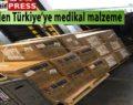 Çin Türkiye'ye izole elbise,maske ve medikal malzeme gönderdi