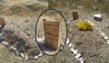 Üzerinde 'İnsanlık ölmüş' yazan mezarın sırrı ortaya çıktı