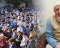 Koronadan hayatını kaybeden kanaat önderini yüzlerce kişi uğurladı
