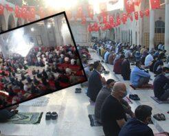 Peygamberler şehri Şanlıurfa'da Bayram namazı