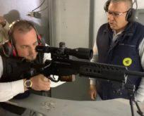 Milletvekilleri silah talimi yaptı