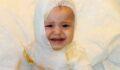 Bir yaşındaki çocuk feci şekilde yandı