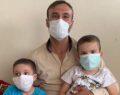 Çocuklarının tedavi süreci için yardım bekliyor