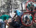 Viranşehir'de yangınlara karşı orman temizliği