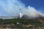 Kontrol altına alınan yangın tekrar başladı