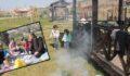 Şanlıurfa'da vatandaşlar parklara akın etti