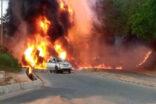 Petrol tankeri patladı: 3 ölü