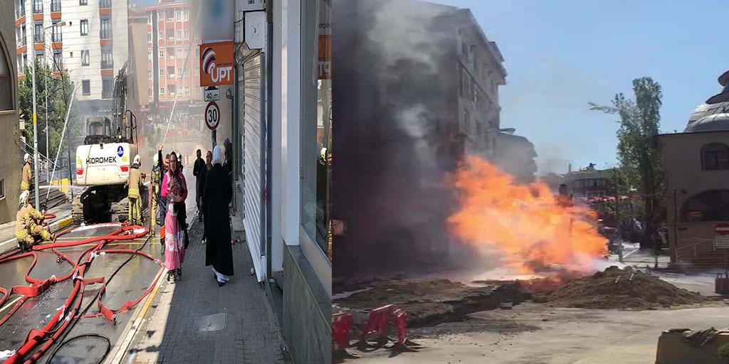 İstanbul'da korkunç doğalgaz patlaması