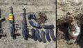 Tuzaklanmış 10 kilo C4 patlayıcı ele geçirildi