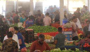 Semt pazarlarında püskürtmeli serinlik
