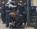 Başörtülü kadına karşı polis şiddeti