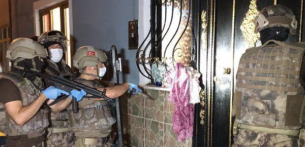 600 polisle dev uyuşturucu operasyonu
