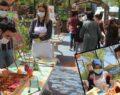 Rehberlik Sokağı geleneksel el sanatlarıyla renklendi