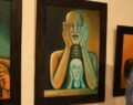 Korona virüsü hissetti resimlerine yansıttı