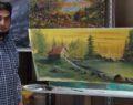 Urfalı Ayhan yaptığı resimlerle göz kamaştırıyor