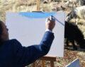 Urfalı çoban ressamlara taş çıkardı