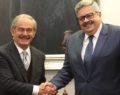 Rusya Büyükelçisinden Büyükerşen'e ziyaret
