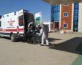 Sivas'ta yüksek ateş sorunu yaşayan Afgan, gözetim altına alındı