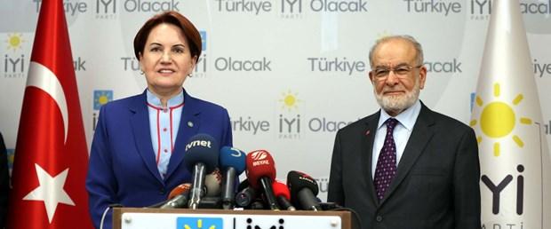 Karamollaoğlu, Akşener'le görüştü