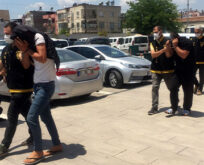 4 sahte polis tutuklandı