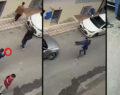 Dehşet anlar kamerada: Sokak ortasında kurşun yağdırdı