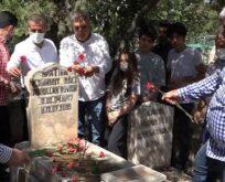 Şanlıurfalı ses sanatçısı mezarı başında anıldı
