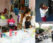 Sanat atölyelerinde yaz dönemi başlıyor