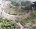 Sel tarım arazilerini vurdu