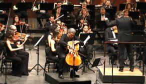 Senfoni'de Viyolonsel ezgilerini dinlediler