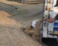 Hububat yüklü kamyonda kaçak sigara ele geçirildi