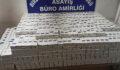 Şanlıurfa'da binlerce kaçak sigara ele geçirildi