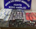 Şanlıurfa'da gümrük kaçağı sigara ele geçirildi