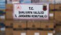 Şanlıurfa'da kaçak sigara ele geçirildi