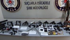 Silah kaçakçılığı operasyonu: 24 gözaltı