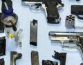 Polis uyuşturucu ihbarı diye gitti, silah imalathanesi çıktı