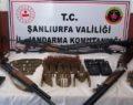 Şanlıurfa'da kaçak silah operasyonu